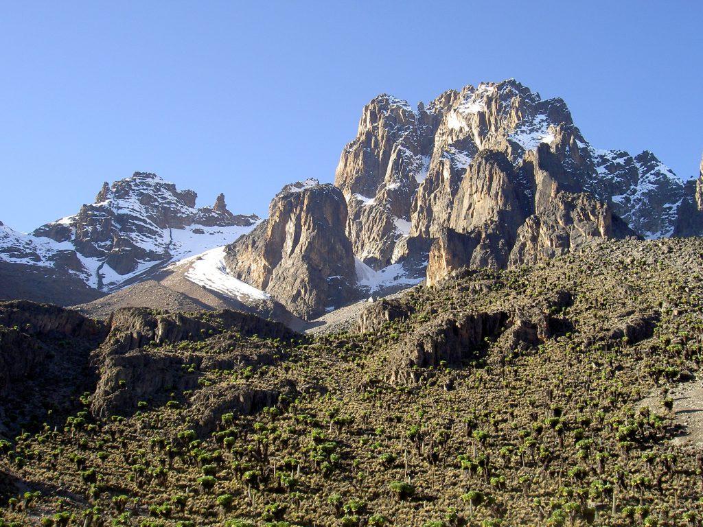 Monte kenya trekking