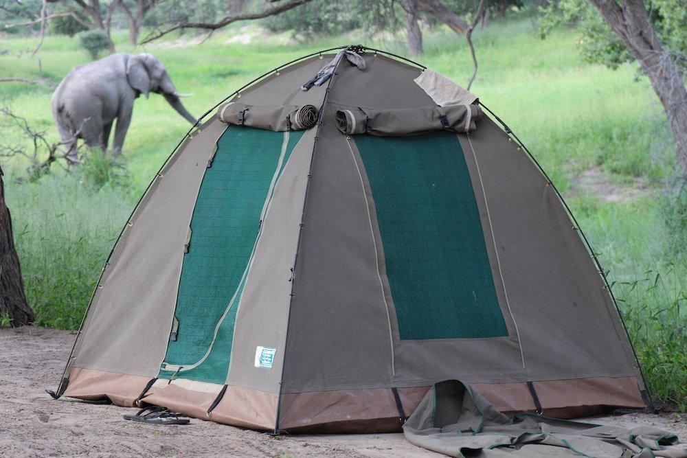 Tenda safari campeggio